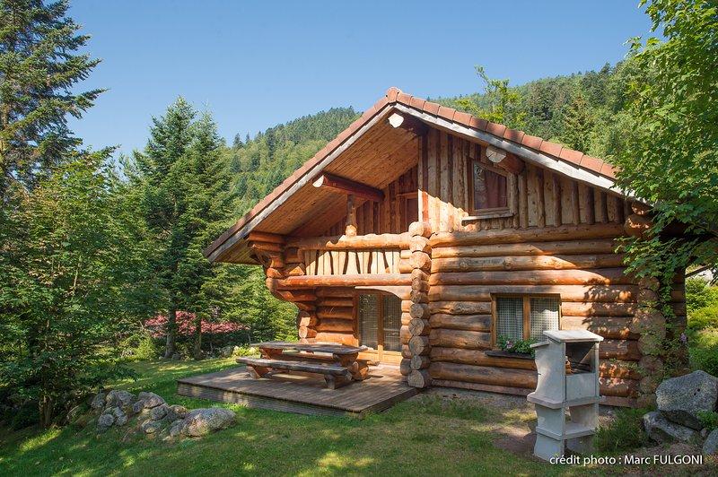 8. BE Magnifique chalet rondins 130m², 4ch, 8/10p, holiday rental in Wildenstein