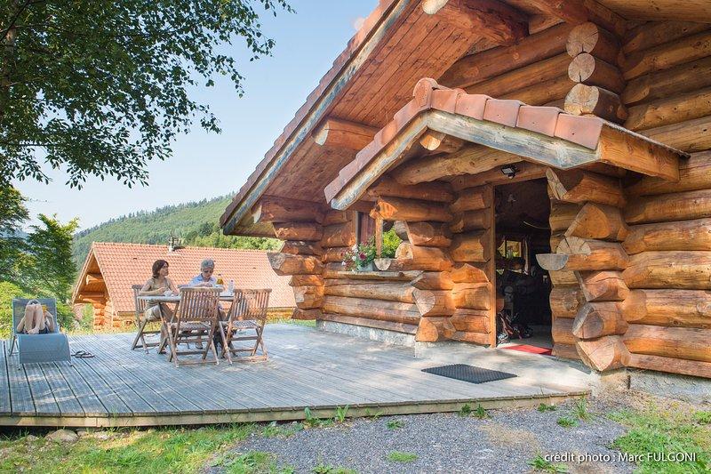 4. Magnifique chalet rondins 4/6 p, 52 m², 2 ch G, holiday rental in Wildenstein