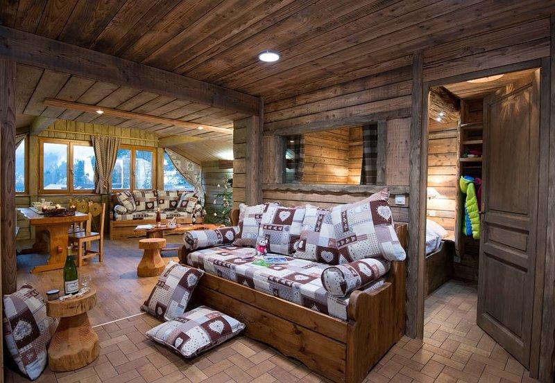 F4 Grand appartement premium 60m² 2ch 6p cheminée, holiday rental in Wildenstein