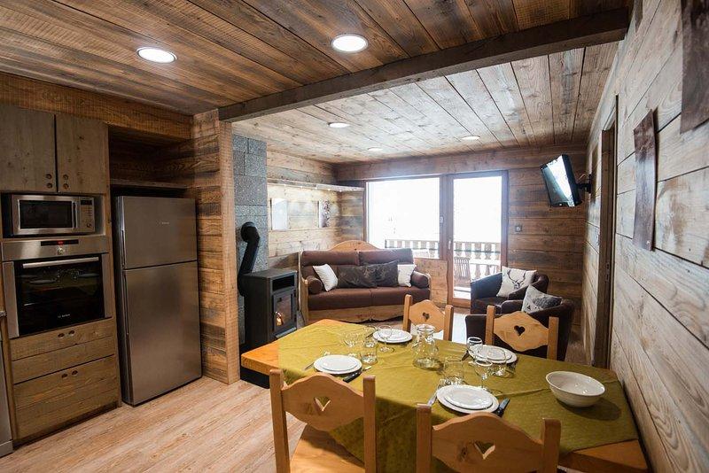 G8. Appartement premium 3/5p 42m² 1ch terrasse, vacation rental in La Bresse