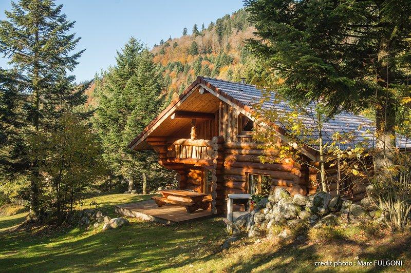 8. SO Magnifique chalet rondins 130m², 4ch, 8/10p, holiday rental in Wildenstein