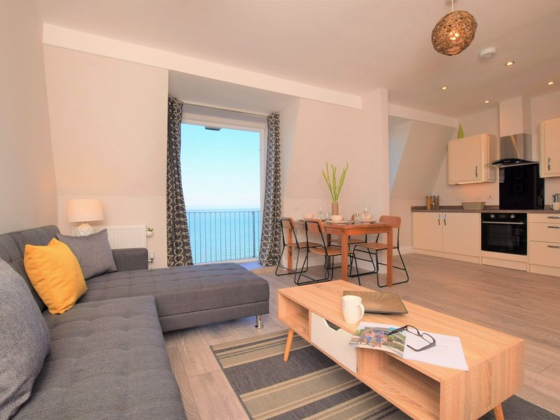 Spectacular sea views from all angles of the living area