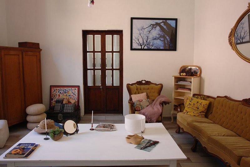 Detta är huvudrummet, där du kan dela med andra gäster.