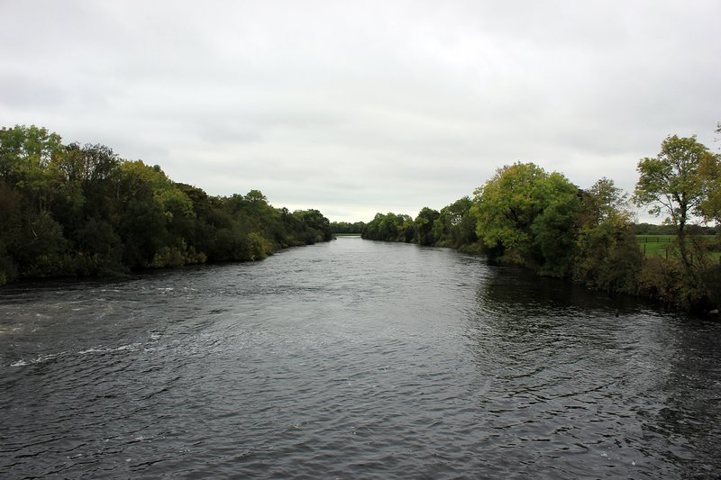 Upstream on the River Shannon