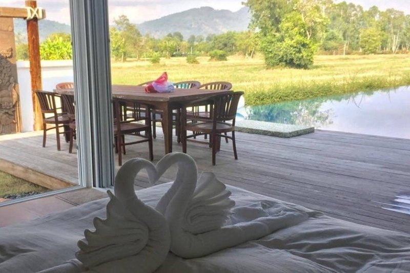 Thailand Countryside Villa with Pool, vacation rental in Si Maha Phot