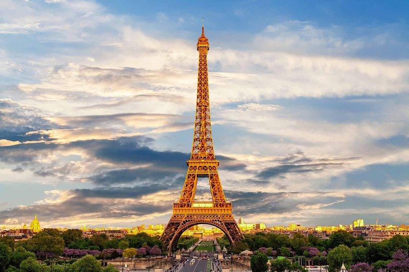 Tour Eiffel à 30mn en transports en commun.