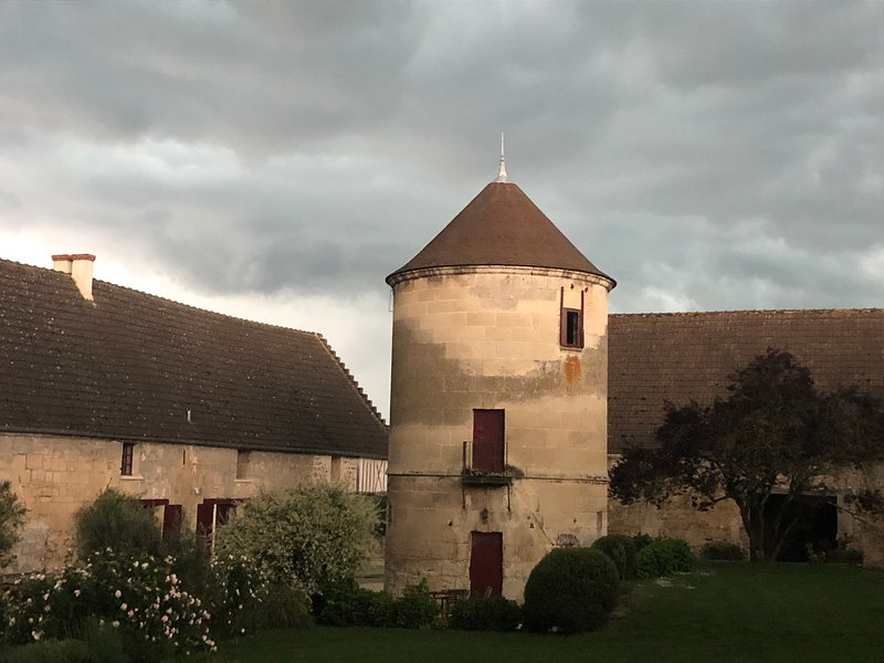 view of the dovecote