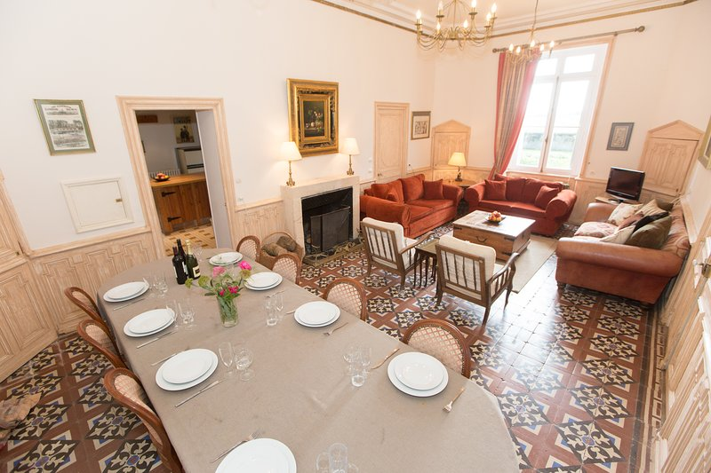 Luxury 19th Century Chateau, holiday rental in Deneze-sous-Doue