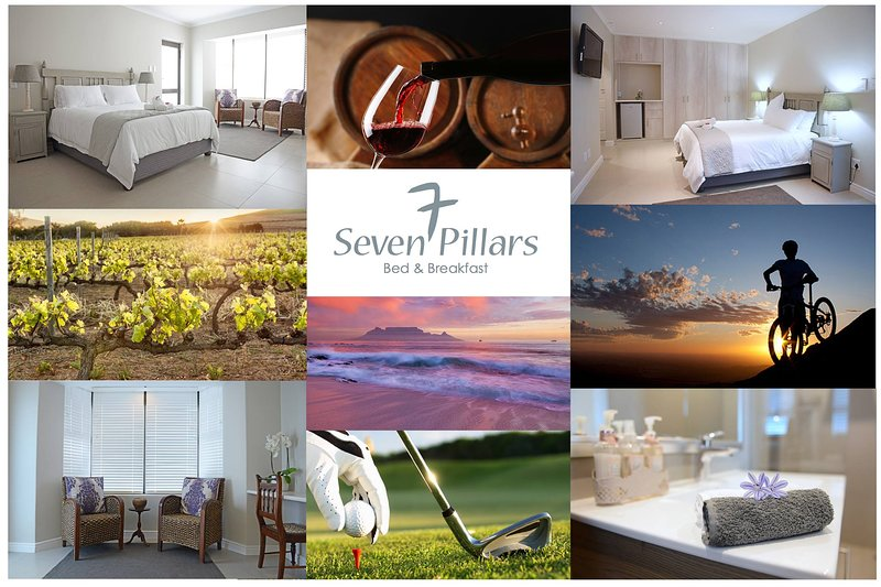 7PillarsBnB luxurious Bed and Breakfast in Cape Town, alquiler vacacional en Kenridge