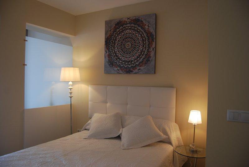 Vista de la cama principal 190 X 150