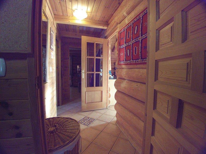 Hall mellan 2 king size sovrum