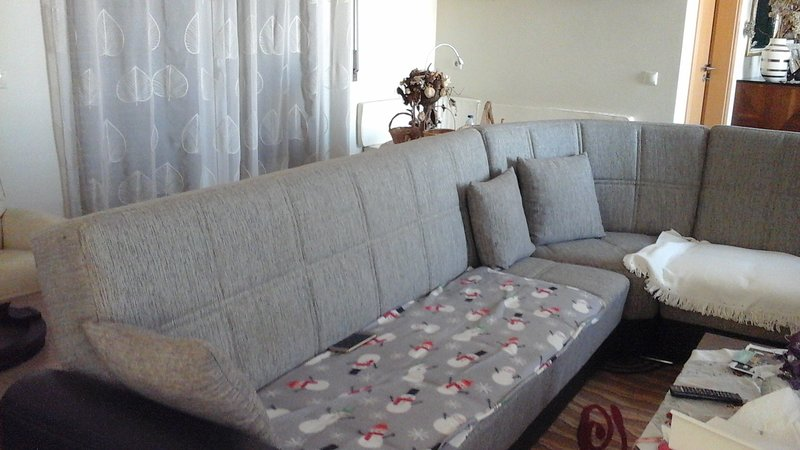 Spacious house with balcony & Wifi, holiday rental in Rio Maior