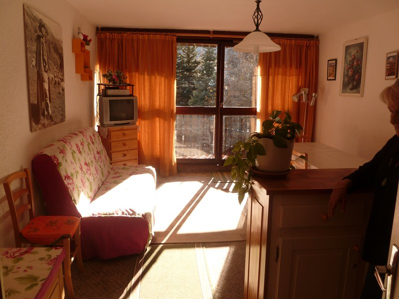 Apartment with mountain view, holiday rental in Le Sauze