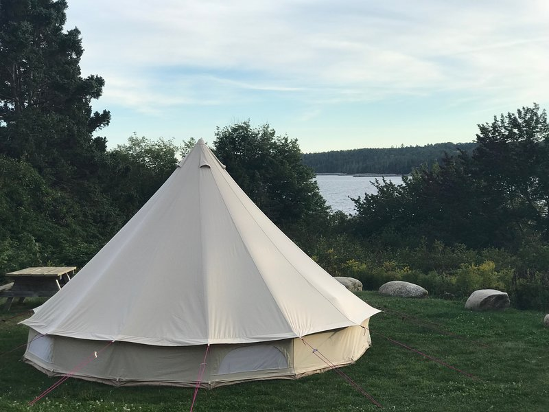 East Coast Glamping at Graves Island Provincial Park