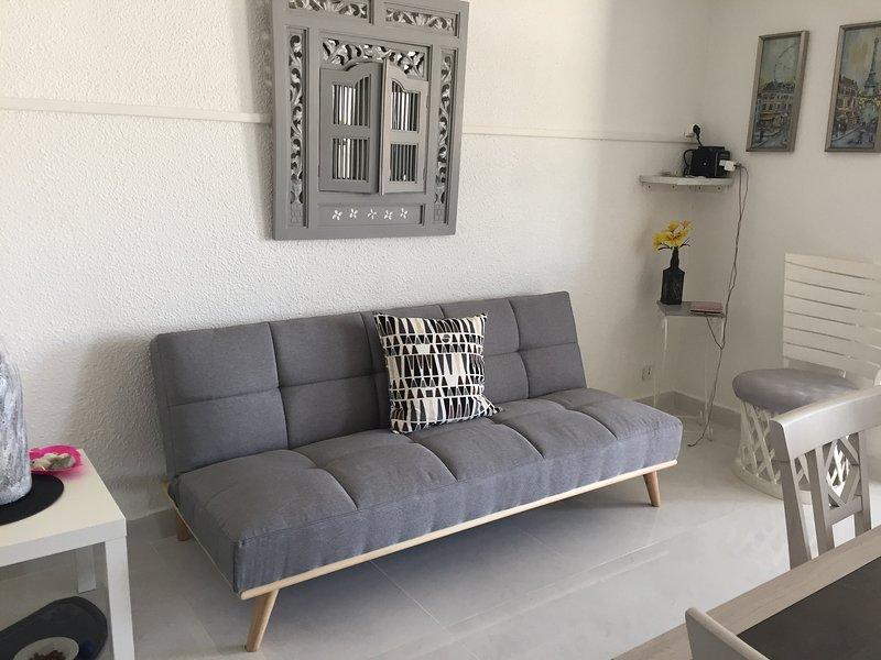 Sofá cama de apartamento