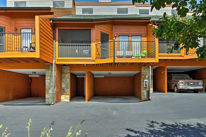 Enjoy easy parking in the carport during your stay!