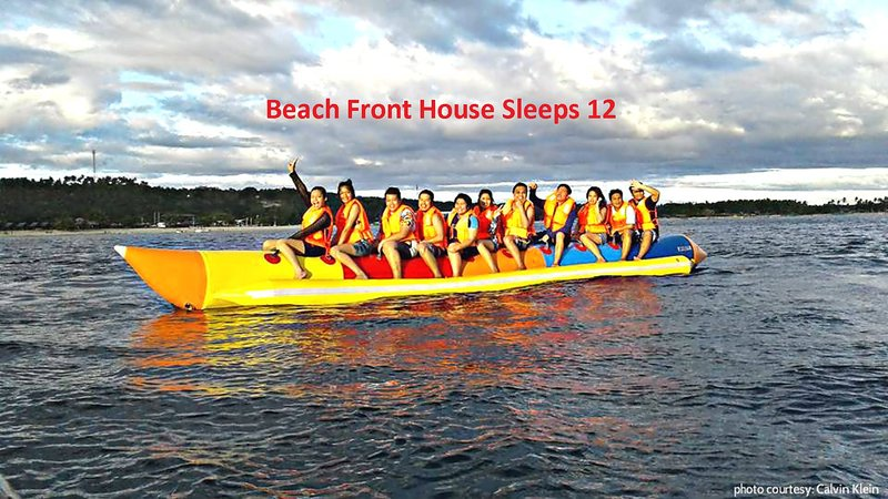 Banana Rafting with other beach activities available
