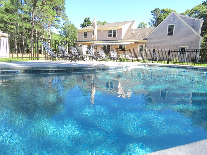 Stunning new home with heated in ground salt water pool