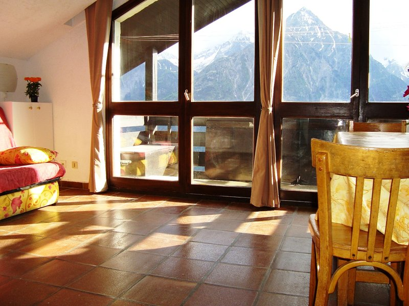 Amazing apt with mountain view, holiday rental in Saint-Christophe-en-Oisans