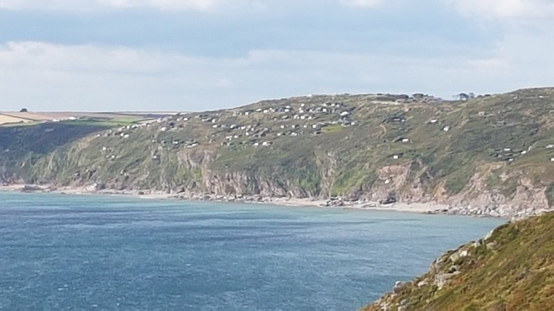 View of Windwhistle from Rame Head