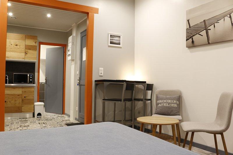 Trankil'apparts 01 Studio Grand confort, holiday rental in Hauteville