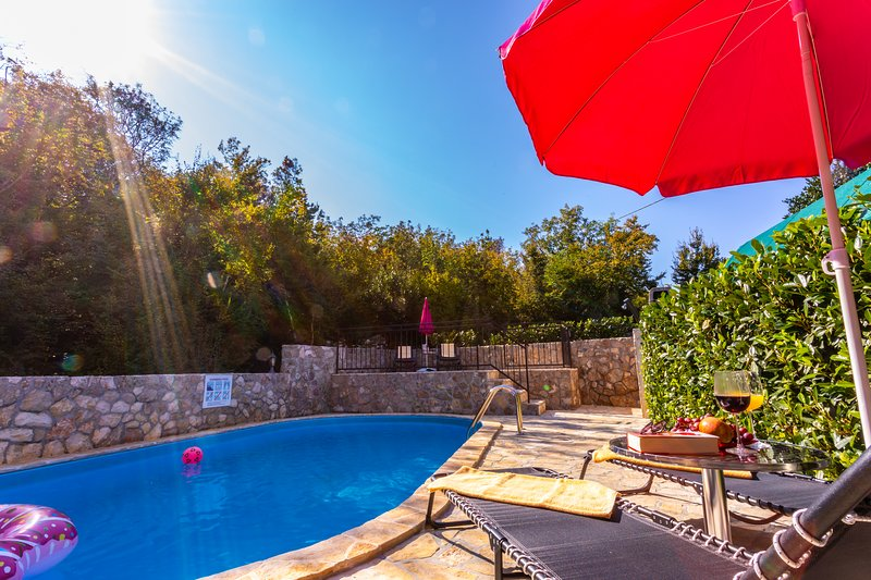 Holiday Apartment With A Private Swimming Pool Fenced Garden And