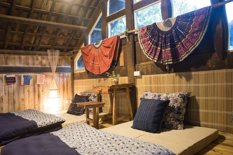Phơri's House BAMBOO FOREST - Loft #4, holiday rental in Ta Van