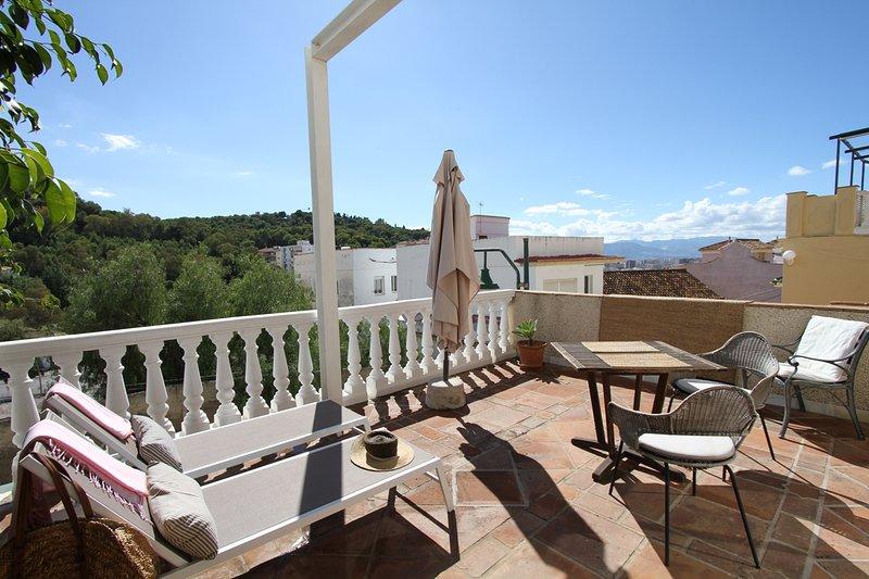 GIBRALFARO 1, Ferienwohnung in Málaga