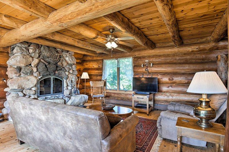 Dieses Ferienhaus ist ideal für Gruppen von 9 Personen.