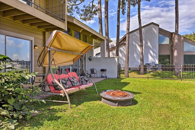 You'll find this waterfront townhome is the best way to experience Lake Conroe!
