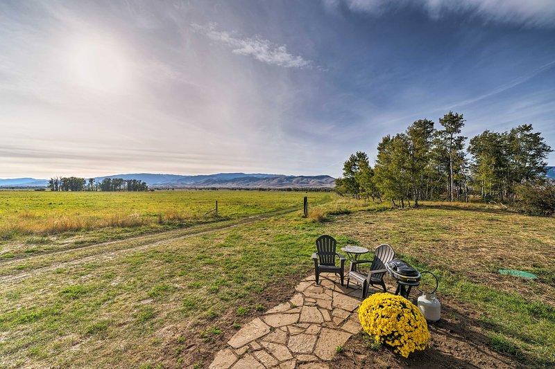 Un paradiso naturale attende in questa casa vacanze Livingston in un ranch storico