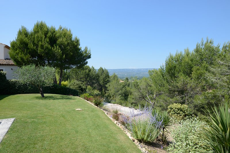 Looking towards the Luberon and first terrace