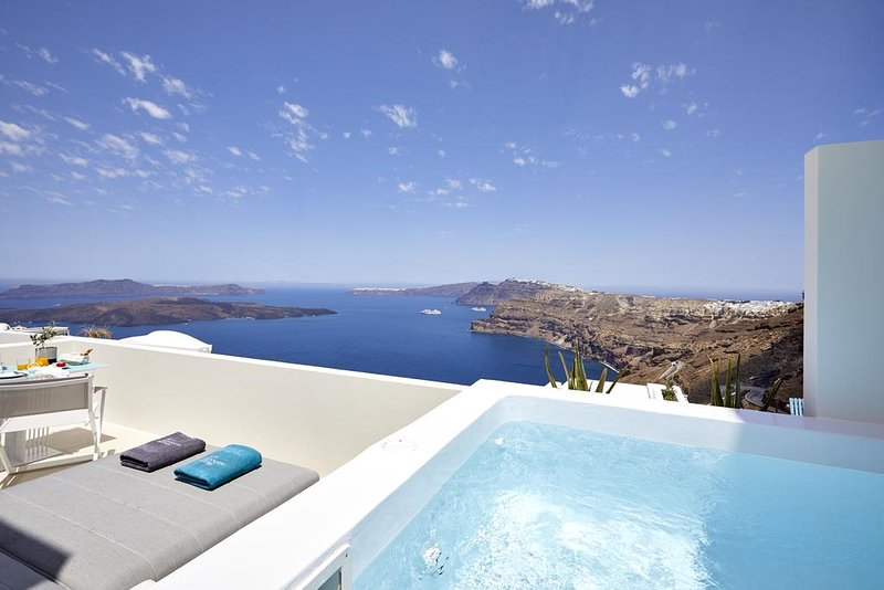 Alti Santorini Suites (Rubi Suite), location de vacances à Megalochori
