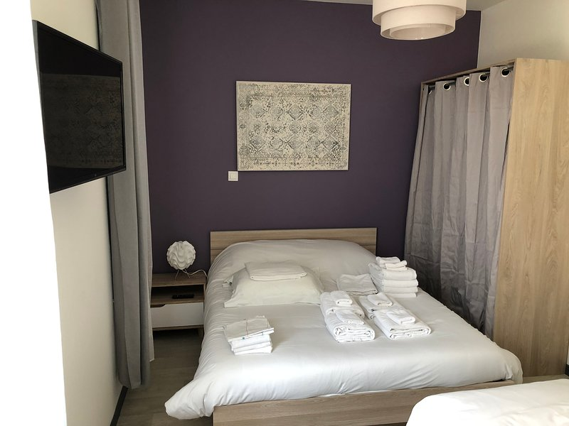 Trankil'Appart Centre, TR13, 4 couchages+ terrasse, 40M2,, holiday rental in Hauteville