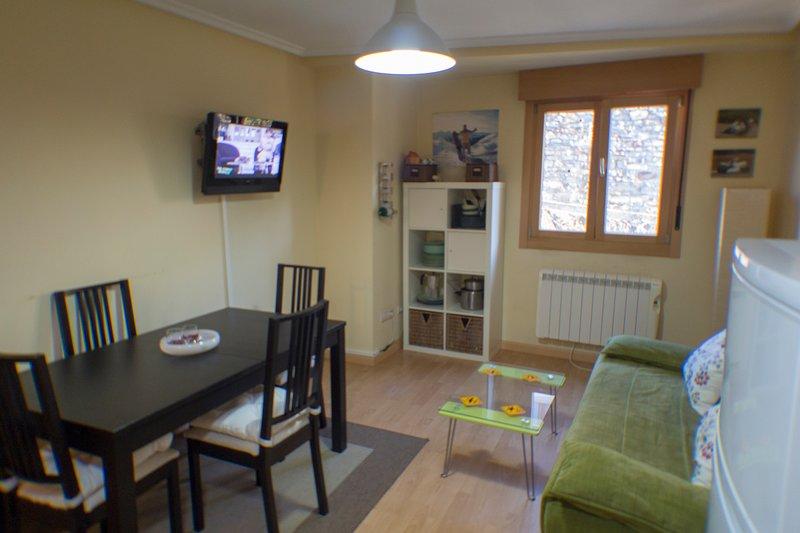 Apartamento alquiler para esquí en Felechosa, vacation rental in Campiellos