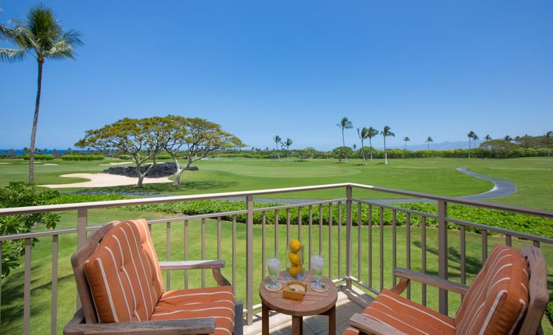 Spectacular Golf and Ocean Views from the Great Room Lanai