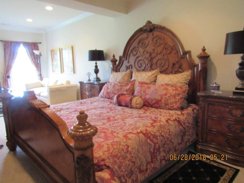 Bedroom Area with King Size Bed