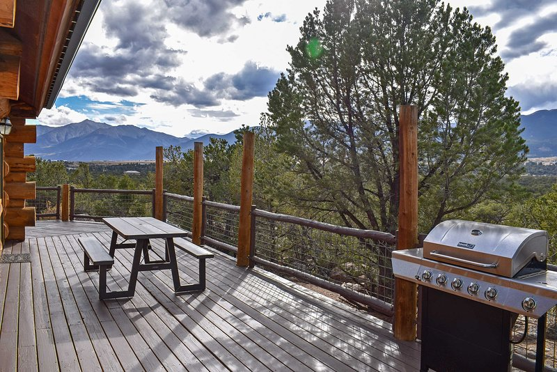 19-Acre Buena Vista Cabin w/ Mtn Views & Grill! UPDATED 2019