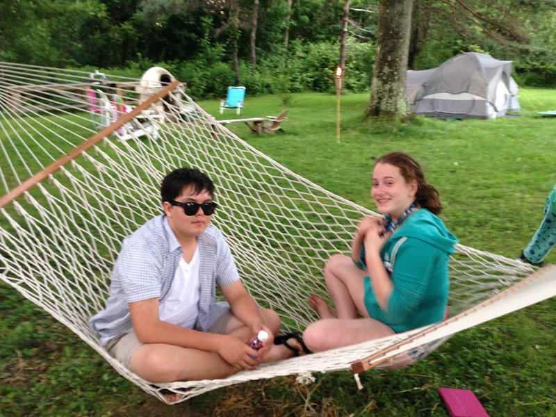 Bring a tent for friends.  Fresh multigenerational memories being made!  65 acres means no crowds