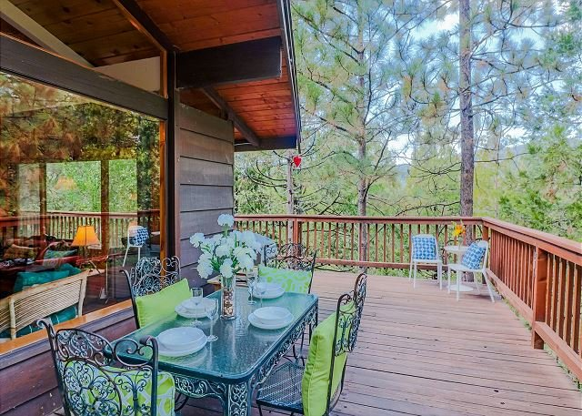 Modern Crestview Lodge with Rustic Charm amazing view, holiday rental in Idyllwild