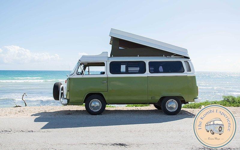 he Kombi Experience: Rental The Kiwi VW in Tulum, alquiler de vacaciones en Tulum