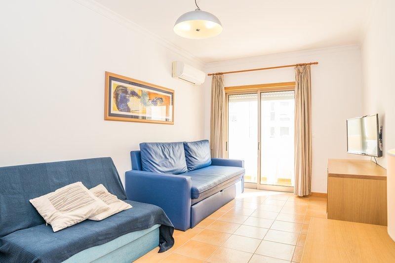 Coltrane Blue Apartment, Monte Gordo, Algarve – semesterbostad i Monte Gordo