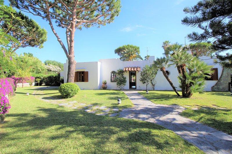 SILENCIOUS SMALL VILLA WITH SPACIOUS GARDEN + POOL, location de vacances à Forio
