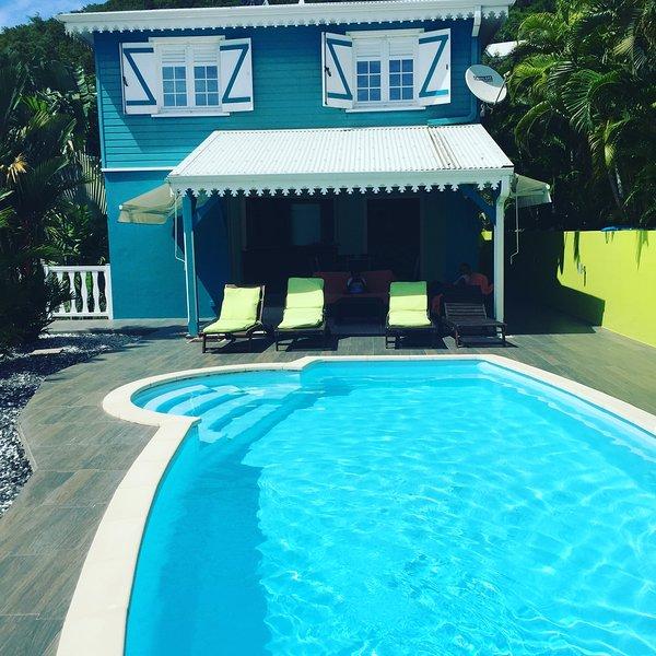 Amazing villa with swimming-pool, location de vacances à Le Diamant