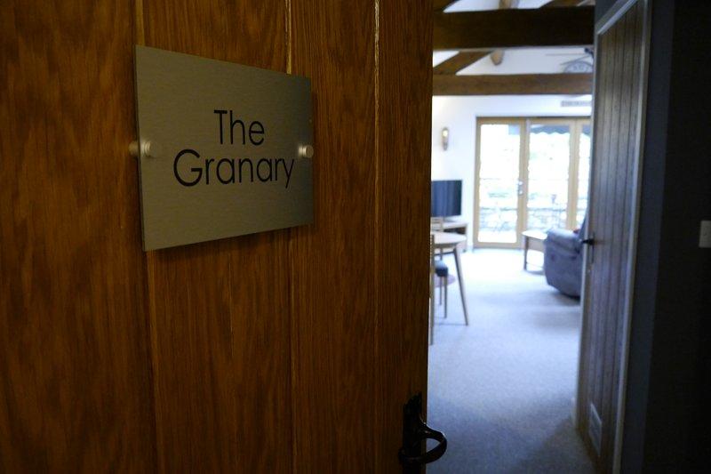 The Granary entrance