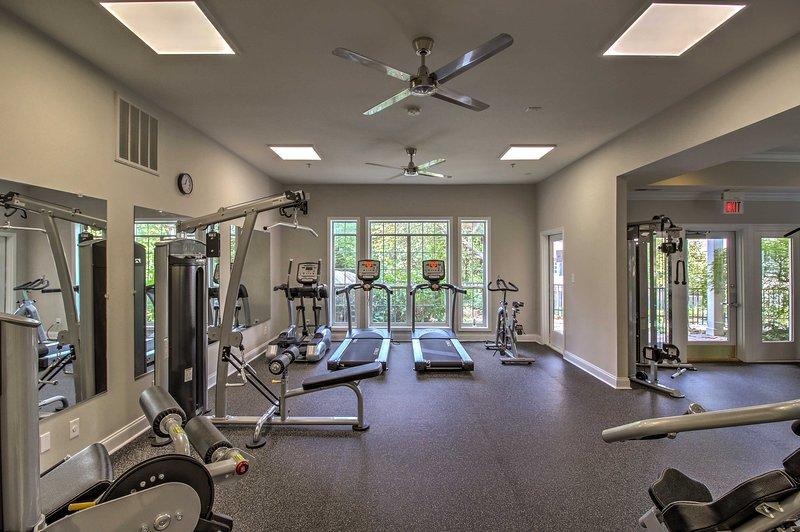 Fai un po 'di cardio nel centro fitness.