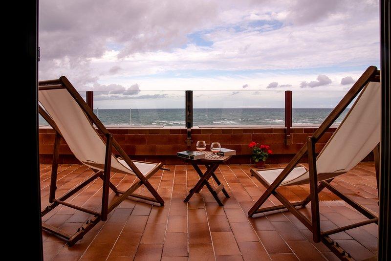 Chalet único en primera línea de la playa de la Mata, alquiler vacacional en La Mata