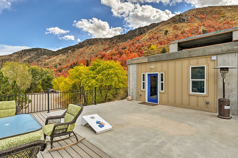 Lava Hot Springs Studio w/Deck - Mins to Hot Pools, vacation rental in Lava Hot Springs