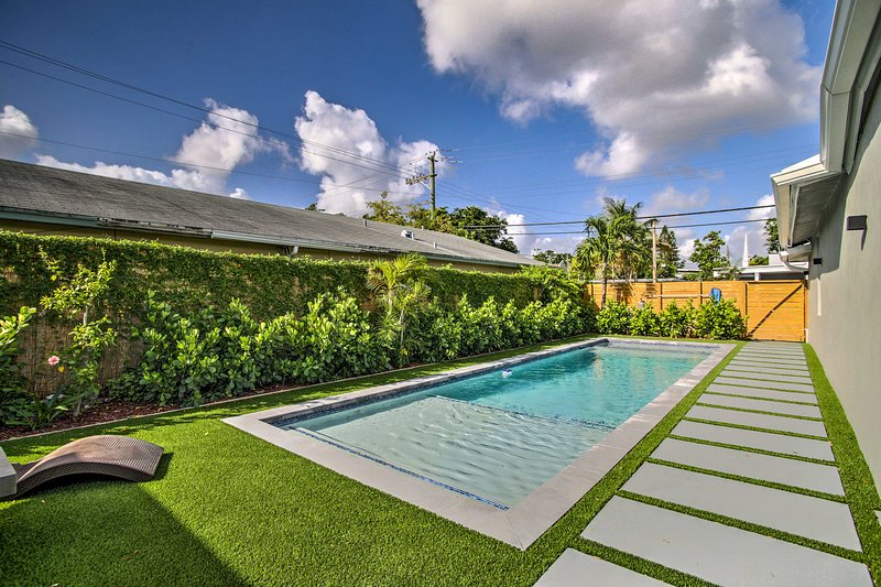 Remodeled Fort Lauderdale Home w/Shared Pool!, holiday rental in Wilton Manors