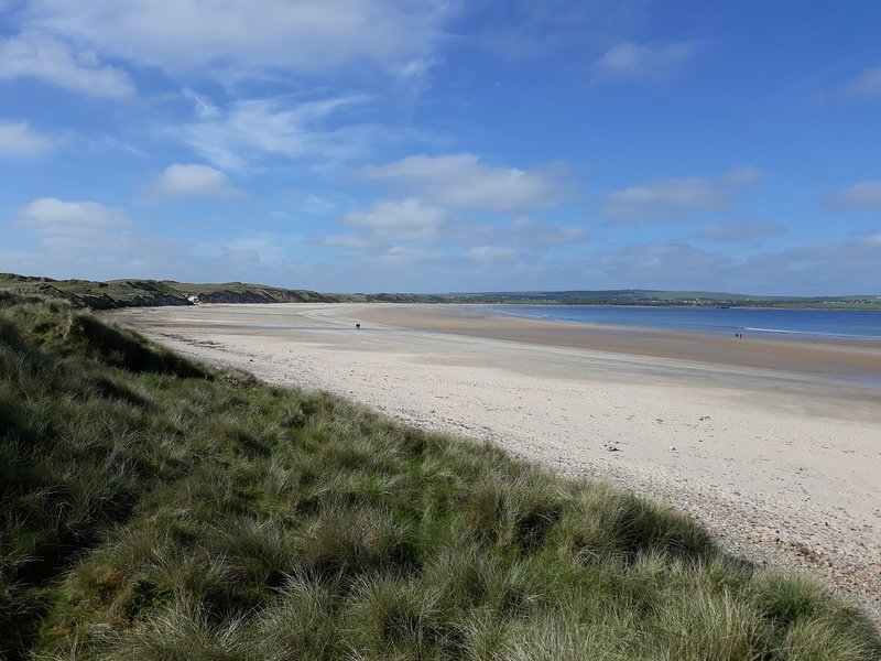 The wonderful sandy Dunnet Beach is a short drive away from the Highland Haven.